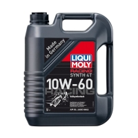 Моторное масло LIQUI MOLY Racing Synth 4T 10W60, 5л